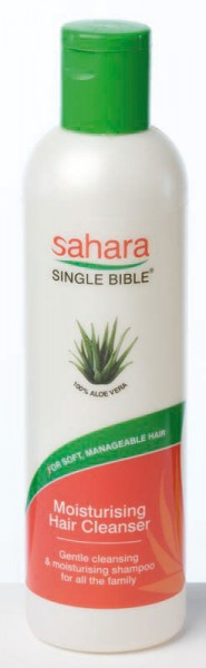 Sahara Single Bible Moisturising Hair Cleanser 250ml