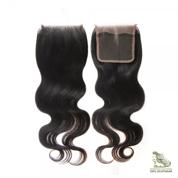 Lace Closure 4×4 (free part) in 5 Varianten und 2 Farben