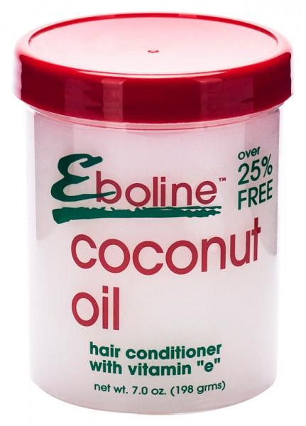 Eboline Coconut Oil Hair Conditioner with Vitamin E 198g