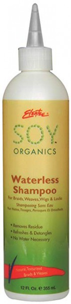 Elentee Soy Organics Waterless Shampoo 355ml