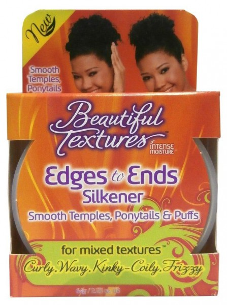 Beautiful Textures Edges to Ends Silkener Smooth Temples, Ponytails & Puffs 64g